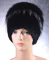 Женская меховая шапка Версаль из ондатры, чернобурки и песца