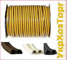 Уплотнитель самоклеющийся, STOMIL SANOK, D 9x7.5 мм*100 м