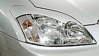 Реснички на фары Тойота Королла Е12 (2001-2006)