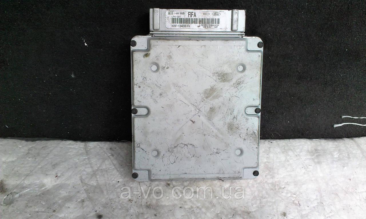 Блок управления двигателем БУД ЭБУ Ford KA 1.3 XS5F-12A650-AF E9AF14A624AA DXYJI9MBWV49