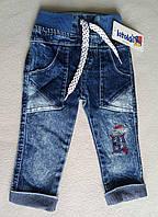 Детские джинсы для мальчиков 6-18 месяцев Турция