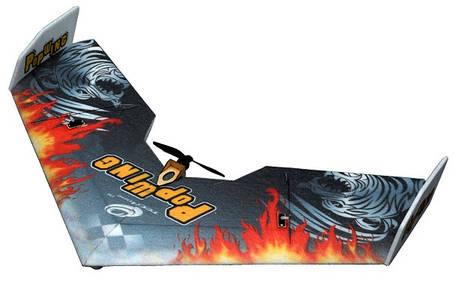 Летающее крыло Tech One Popwing 900мм EPP ARF (черный), фото 2
