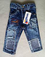Детские джинсы для мальчиков 1-3 года Турция