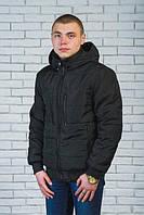 Куртка мужская демисезонная черная (44-60)