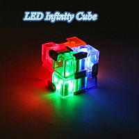 Анти-стресс кубик бесконечности игрушка Infinity Cube Инфинити Куб светящийся