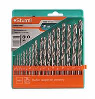 Сверла по металлу Sturm (1-10 мм, 19 шт) 1055-01-SS2
