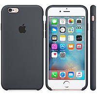 Силиконовый чехол Apple Silicone Case IPHONE 5S/SE (Grey)
