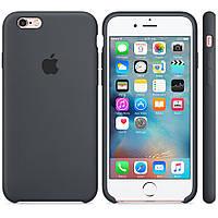 Чехол для iPhone 5S/SE Silicone Case бампер (Grey)