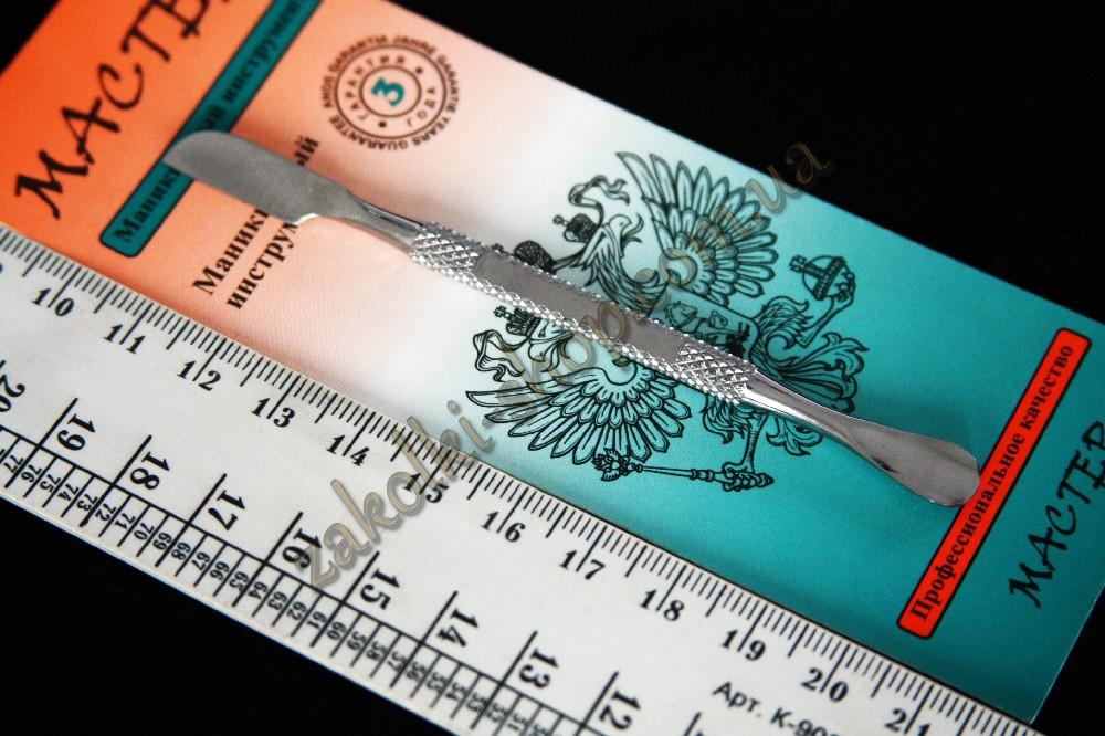 Лопатка (шабер) для маникюра Мастер М 174, 10 см, 1 штука