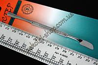 Лопатка (шабер) для маникюра Мастер М 174, 14 см, 1 штука