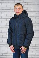Куртка мужская демисезонная темно-синяя (44-60)