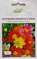 Жоржина Міньйон суміш 0,2г (Проф насіння)