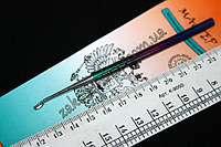 Подрезка для кутикулы Мастер металл цветная, 1 штука