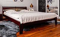 Деревянная кровать с ковкой Венеция