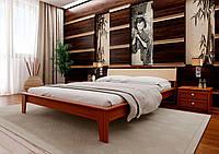 Деревянная кровать с ольхи Венеция Люкс