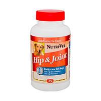 Витамины Нутри-Вет для собак связки и суставы хондр.и глюкозам Адвансид (3-й уровень)МСМ 90т,Nutri-vet /24476