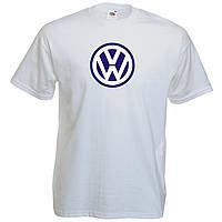 Автолюбительская футболка с печатью Volkswagen