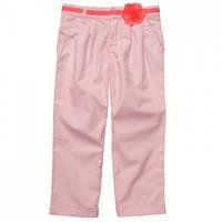 Капри для девочки  розовые, Carters, размер 116