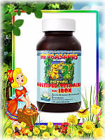 «Витазаврики» жевательные витамины с железом от 1 года и старше, 120 таб.
