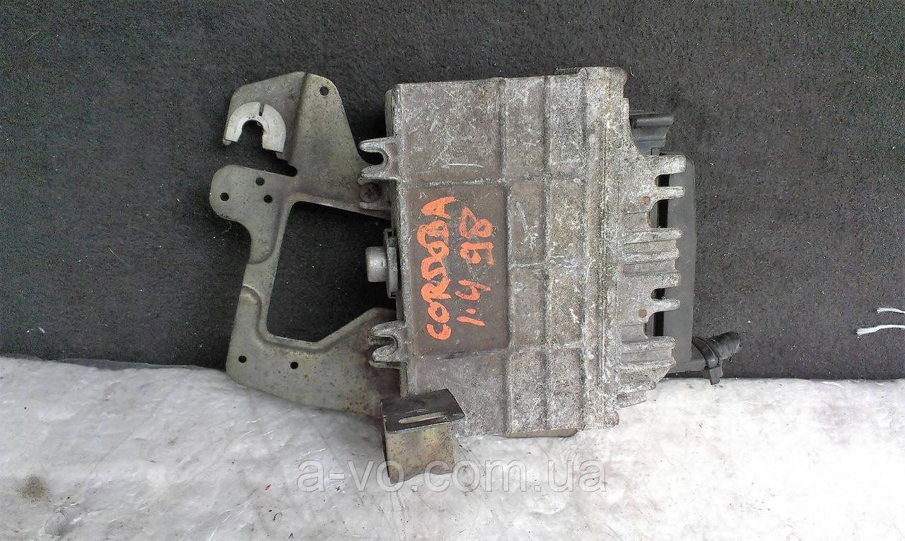 Блок управления двигателем БУД ЭБУ Volkswagen Vento Ibiza Cordoba Polo Caddy Inca 1.4 6K0906027E 0261204593