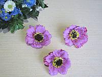 Маки из латекса лиловый, фото 1