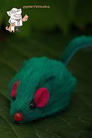 Игрушка для кошек Мышь  2  серая  \  M002G