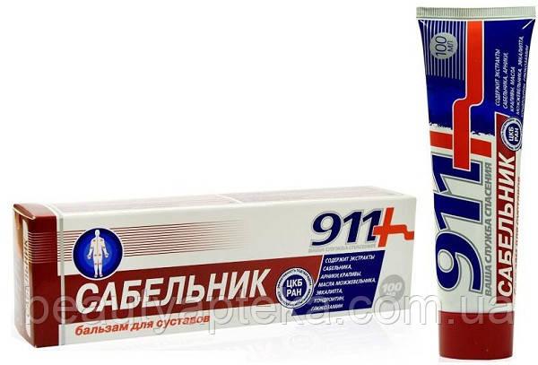 911-гель-бальзам д/суставов сабельник 100мл у лабрадора суставы