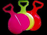 Детские пластиковые санки