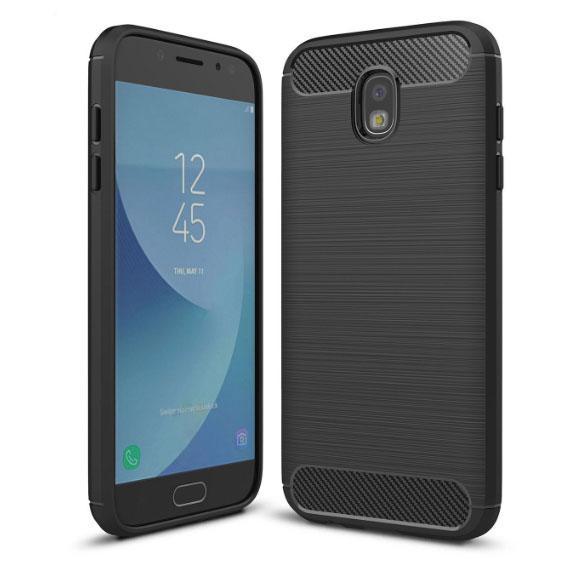 Чехол PRIMO Carbon Fiber Series для Samsung J5 2017 (SM-J530) - Black