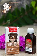 Гепатовет-суспензия д/собак 100 мл, Api-San, Россия/14751