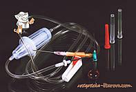 Система (  ПК ) перелив крови ПК 21-02 с метал.иглой  Гемопласт