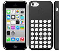 Оригинальный силиконовый чехол Apple Case iPhone 5C (Black)