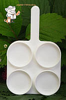 Тест-пластина молочно-контрольная для исслед.на маститы у живот.26*16см/4052
