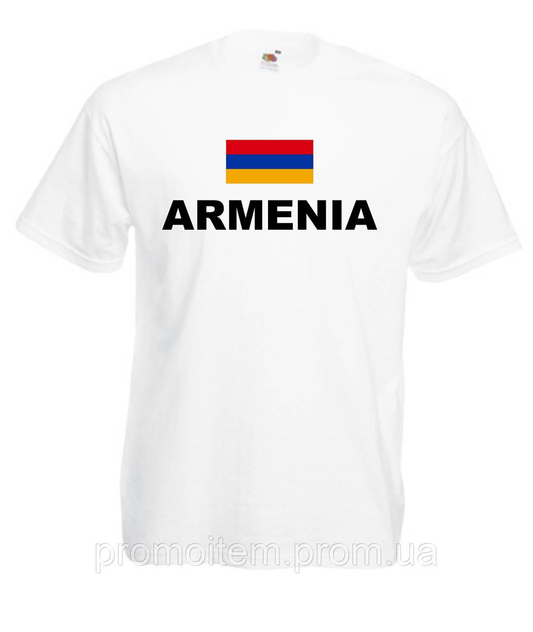 028cc273cf8f Патриотические футболки страны (Армения с флагом)