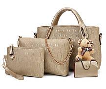 Сказочный набор сумок с брелком, 4в1, фото 3