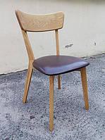 Деревянный стул Диана дубовый выбор цвета и обивки