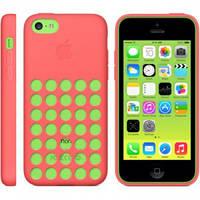 Оригинальный силиконовый чехол Apple Case iPhone 5C (Pink)