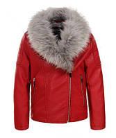 Куртка кожзам  для девочек оптом Glo-Story 92-128 см., № GPY-5642, фото 1