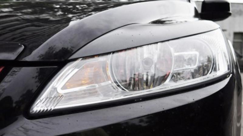 Реснички на фары Форд Фокус (Ford Focus) 2+ рестайлинг (2008-2011) /комплект