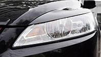 Реснички на фары Форд Фокус (Ford Focus) 2+ рестайлинг (2008-2011)