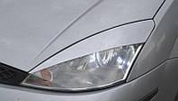 Реснички на фары Форд Фокус (Ford Focus) 1 (1998-2004) /комплект