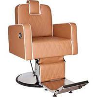 Кресло парикмахерское барбершоп HOLLAND (прошитое) Ayala