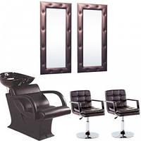 Рабочее место парикмахера Lady - комплект мебели