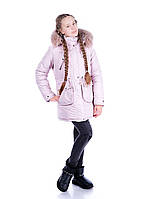 """Зимняя и демисезонная  куртка с отстегивающей подкладкой """"Синди """""""