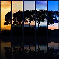Цветовые схемы на экране и в полиграфии