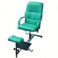 """Кресло педикюрное на стеллаже """"Версаль"""""""