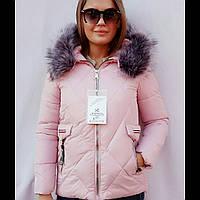 Куртка женская молодежная зимняя Монклер