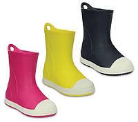 Сапоги резиновые детские Crocs Kids Bump It Rain Boot / дождевики с усиленным носком, фото 1