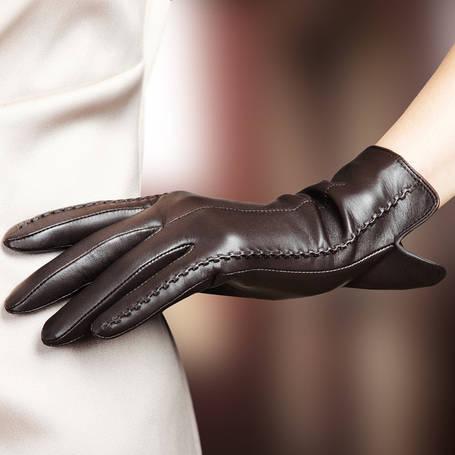КОЖАНЫЕ женские перчатки (только оптом)