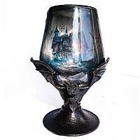 Декор для вечеринки Бутылка - Готический кубок «Летучая мышь» Аксессуары для Хэллоуина
